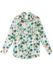 chemise-soie-imprime-artichauts