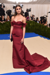 Taylor Hill in Carolina Herrera